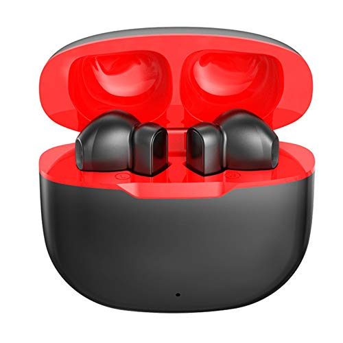 LTLJX Auriculares Inalambricos Bluetooth, Auriculares Bluetooth 5.0 con TWS Estéreo Micrófono, Cascos In Ear con USB-C Carga Rápida, Control Tactil, IPX5 Impermeable,Negro
