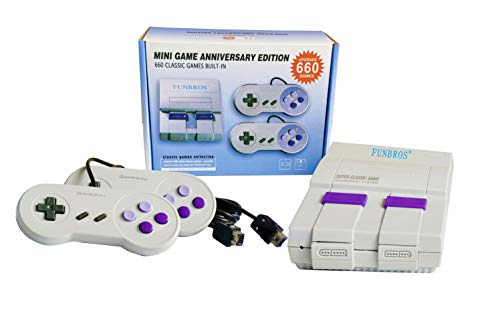 Classic Game Console, Retro Game Consoles Built-in 660 Games Video Games, Mini TV Game Box, Bring You Happy Childhood Memories(AV out )