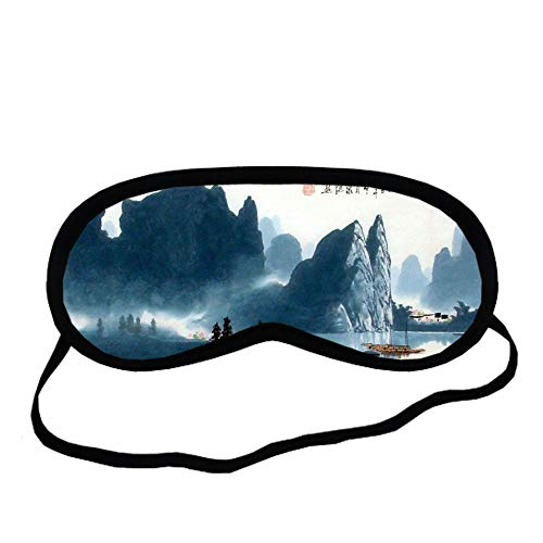 Unknow Usar En Blindfold Resistencia A Los Golpes Mujer Algodón Con Asian Chinese Painting 1 Choose Design 2-4