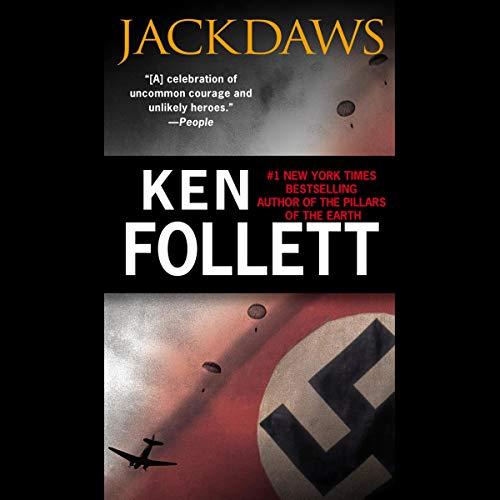 Jackdaws audiobook cover art