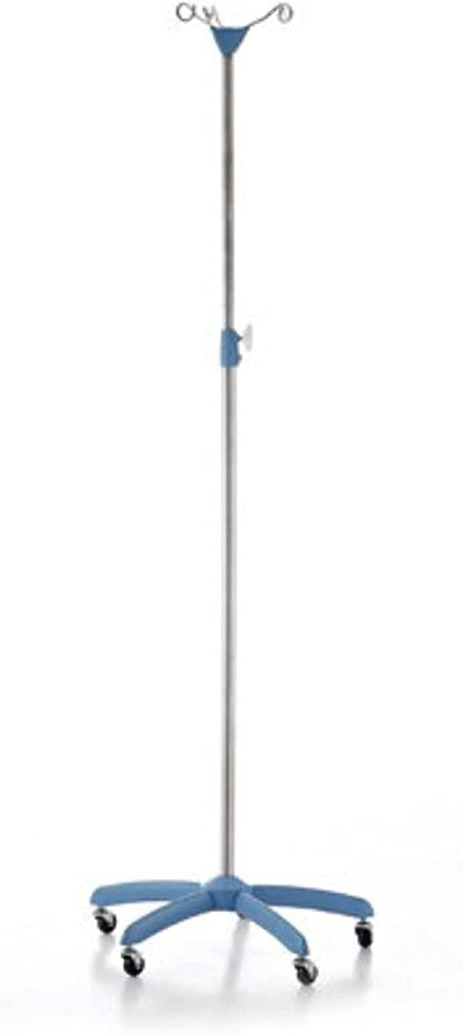 Medical Infusion Stand with IV Adjustable Hook Max Large-scale sale 55% OFF