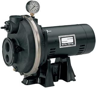 Sta-Rite PLE 1 H.P. 1/115-208V, Deep Well Jet Pump, with a 1