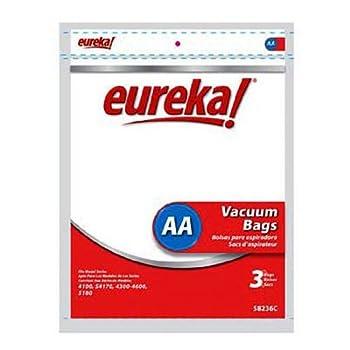 Genuine Eureka AA Eureka & WhirlWind Vacuum Bag - 3 pack  58236C