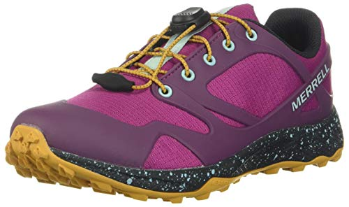 Merrell ALTALIGHT Low A/C WTRPF, Zapatillas para Caminar Niñas, Rosa (Fuchsia), 31
