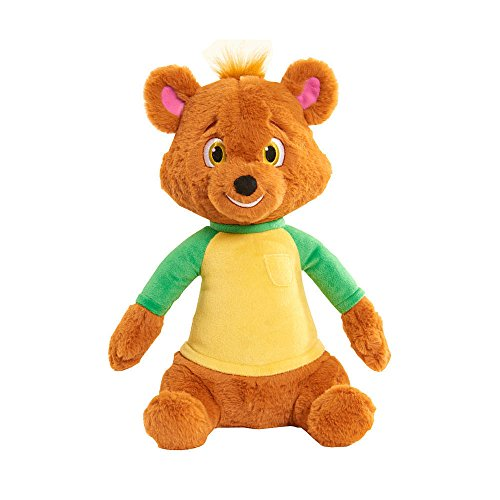 Disney Junior Goldie and Bear Talking Bear Plush Brown Press To hear Him Sing Iconic 'Just Right'