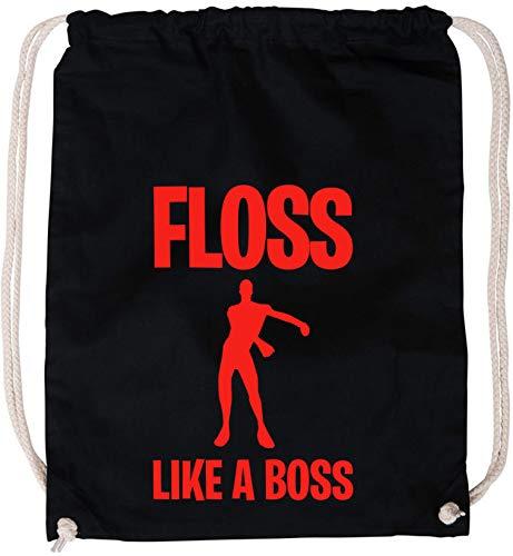 EZYshirt® Floss like a Boss Baumwoll Stoffbeutel
