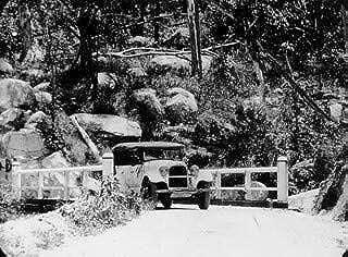 HistoricalFindings Photo: Studebaker Tourer of The Cairns Tableland Motor Co on The Cairns-Yungaburra Road