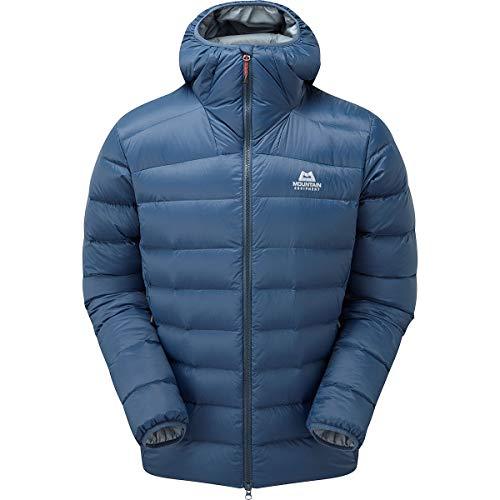 Mountain Equipment Skyline Hooded Jacket, M, Denim Blue