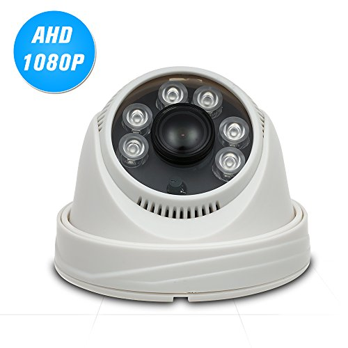 Benkeg 1080P AHD Dome CCTV-Kamera 2.0MP 1.8mm 6pcs Array IR Lampen Nachtsicht IR-Cut Indoor Home Security PAL System