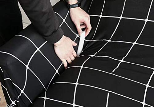 Funda elástica para sofá de alta densidad, tira de espuma antideslizante, para protector de muebles, longitud 27 cm (20 unidades, diámetro 2,5 cm)