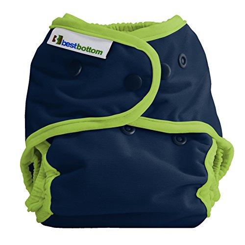 Best Bottom Cloth Diaper shell-snap, Huckleberry cobbler