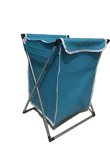 JIUJ Wasmand Oxford Doek, Vouwbaar, Vuile Kleding, Bad Mand. 67 * 44 * 45 Blauw