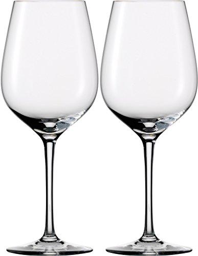 Dekomiro Eisch 2 Rotweingläser 500/2 SensisPlus Geschenkset mit Glasputztuch