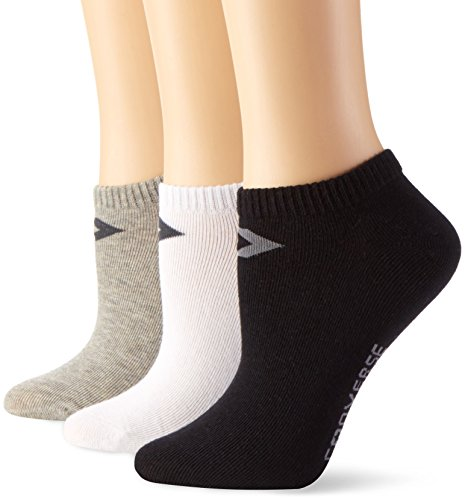 Converse Damen Socken Low Cut 3er Pack Füßlinge 39-42 Mehrfarbig E220W-3012