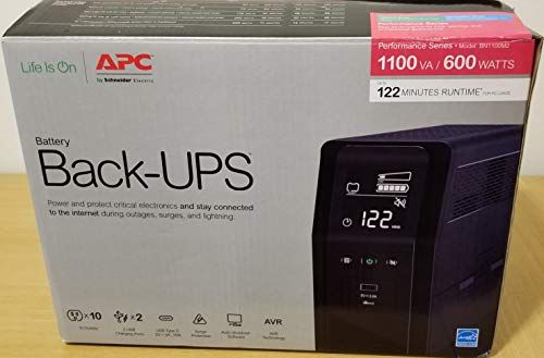 APC American Power Conversion 24313762 Back-UPS Pro UPS Black...
