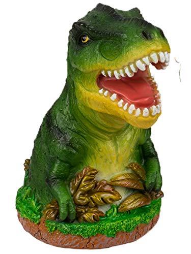 Bada Bing Spardose Dinosaurier Dino GRÜN Ca. H. 14,5 x Ø 8,5 cm T-Rex Sparschwein Zum Geld Sparen Geschenk Junge Geburstatg WeihnachtenGeldgeschenk Verpacken 94