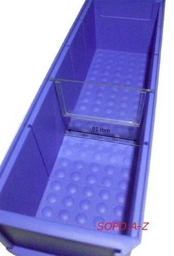 Preisvergleich Produktbild Trennstege schmal für Industriebox (10 Stück)