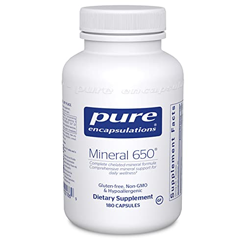 Pure Encapsulations - Mineral 650 - Hypoallergenic Combination of...