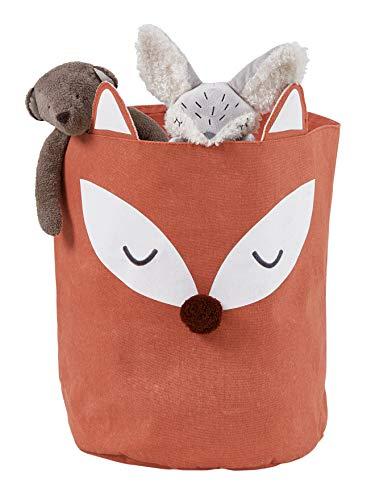 Vertbaudet Aufbewahrungskorb für Kinderzimmer, Fuchs braun ONE Size
