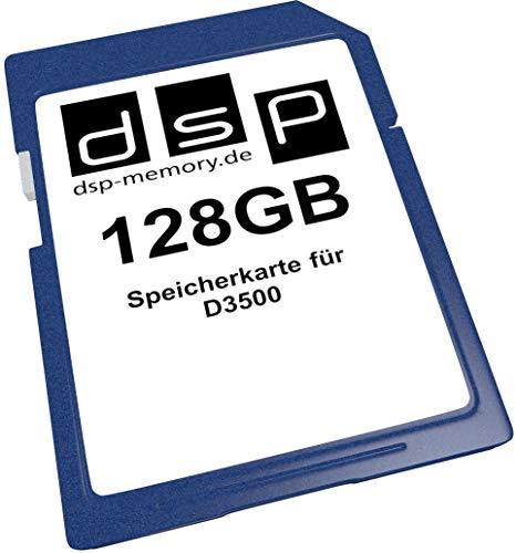 Tarjeta de Memoria para cámara Digital D3500 (128 GB)