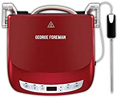 George Foreman 24001-56 Precision Fitness Izgara, Akıllı Sıcaklık Sensörü, 5 Farklı Mod, Contact Grill, Panini Ve...