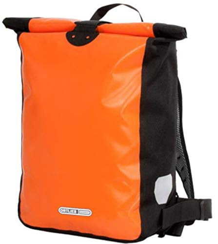 Ortlieb Unisex-Adult Kuriertaschen, orange-schwarz 39l, One Size