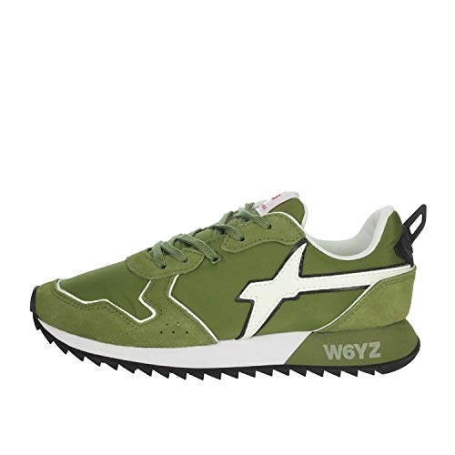 W6yz 0012013566.01. Sneakers Niño Verde obscuro 33