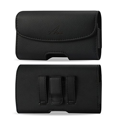 AGOZ for HTC ONE M9, HTC ONE M8 Premium Leather...