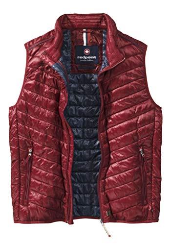 Redpoint Wade Herren Stepp-Weste Steppweste Rot Ultraleicht 100% Polyamid (XXL)