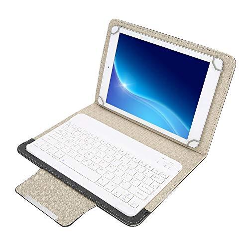 Tastiera Bluetooth con Custodia Protettiva, Tastiera Bluetooth Portatile Universale+Copertura della Cassa Dell unità di Elaborazione per Laptop Tablet da 9.7-10.1 Pollici, Supporto Android   IOS  WIN