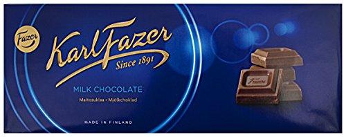 Milchschokolade Blau Original aus Finnland by Karl Fazer [4er packung]