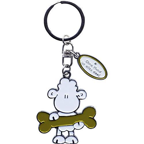 Sheepworld 45709 Schlüsselanhänger Ohne Hund ist alles doof
