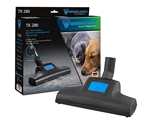 Wessel-Werk TK 286 Staubsauger Eco-Tierhaardüse | Turbobürste | Ideal für Haustierbesitzer | entfernt Katzen- und Hundehaare | auch für Staubsauger unter 600 Watt | inkl. Reinigungszubehör