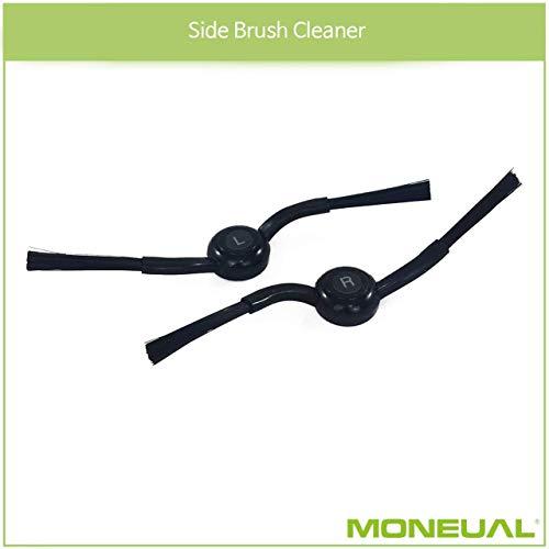 MONEUAL Juego cepillos Laterales para Modelos ME770/me685/mr6800