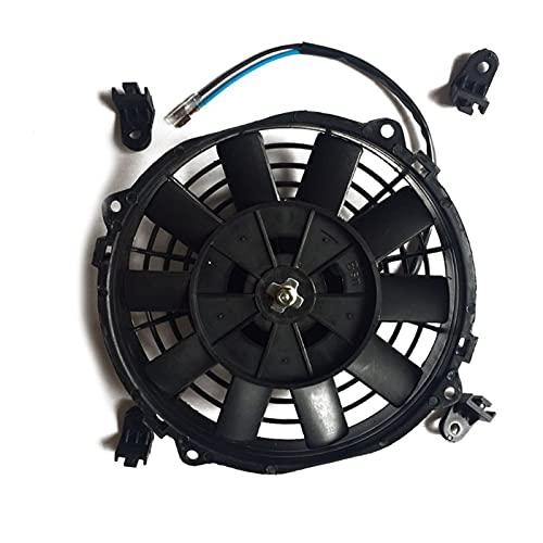 Huhu Nuevo Mini Mini Fan Mini Fan 12V RADIADOR DE RADIADOR DE Aceite DE Coche DE Carro ATV Qiang