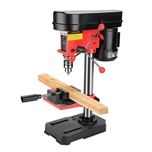 Industrial Grade Mini Benchtop Drill Press, Electric 5 Speed 50mm Depth Workbench Drill Hold Press, High Efficient 230V 350W Adjustable DIY Industrial Drill Workbench Hold Press, Stable Drill Press