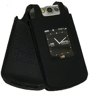 Xentris OEM BlackBerry Silicone Skin Case Pearl Flip 8220 8230, Black