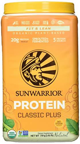 Sunwarrior Classic Plus Natural, Organic, 750 g