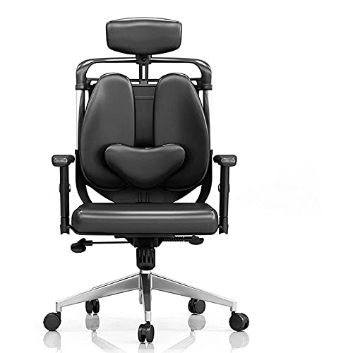KMDJ Gaming Chair Computer Chair Ergonomic Lifting Boss Swivel Chair Gaming Sedentary Lumbar Support Double Back Office Chair