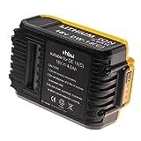 vhbw Batería compatible con Dewalt CL3.C18S, DCD740, DCD740B, DCD771, DCD776, DCD780, DCD780B, DCD780C2 herramientas eléctricas (4000mAh Li-Ion 18V)