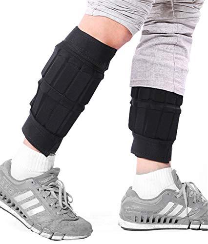 Shocly 2er Set Gewichtsmanschetten Knöchelgewicht Fuß-/Handgelenkgewicht Manschetten für Hand- und Fußgelenke 0.5/1/1.5/2/2.5/3/3.5/4/5/5.5/6KG× 2,6kgx2