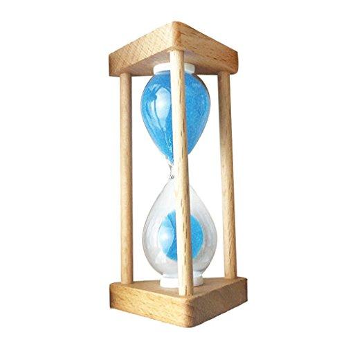 Gazechimp Sanduhren Sanduhr Zähneputzen -30 Sekunden/ 90 Sekunden / 1 Minute/ /3Minuten / 5 Minuten /10 Minuten - Blau - 30 Sekunden