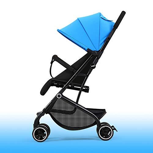BOROAO 3-in-1 baby opvouwbare trolley licht kan zitten op een vliegtuig seizoenen slapen baby kinderwagen