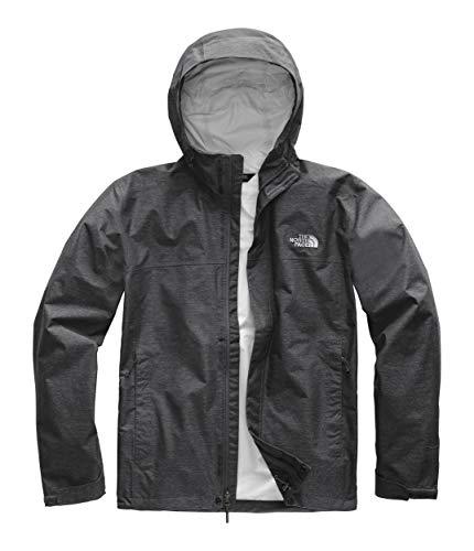 The North Face Men's Venture 2 Jacket, TNF Dark Grey Heather/TNF Dark Grey Heather/Mid Grey, XX-Large