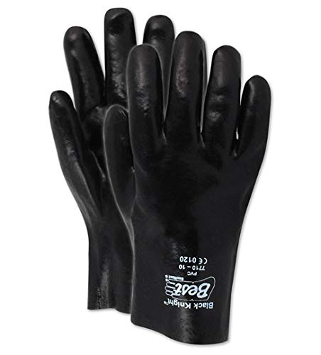 Showa Best 3680R SHOWA Glove Reservation Knight Animer and price revision Vinyl Black