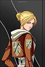 Composition Notebook: Annie Leonhart - Attack on Titan Anime Manga Series Fan's Notepad   Lined Ruled Blank Diary to Write Notes: Daily Writing Journal