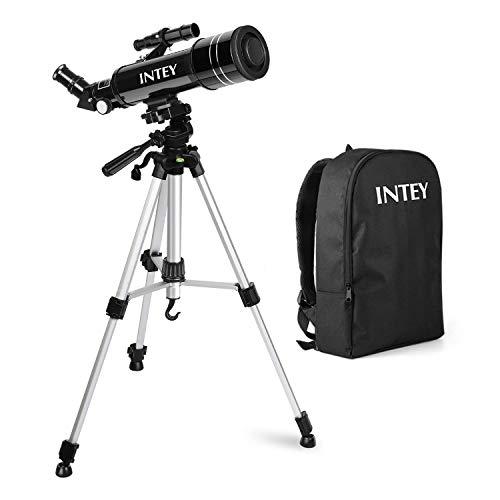 INTEY Télescope Astronomique -F40070M, Téléscope avec Oculaire K25 mm et K6 mm, Télescope de...