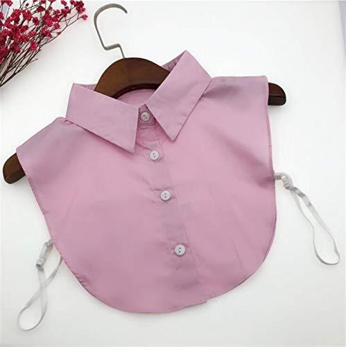 LRrui-Cuello de Blusa Camisa de Encaje de Encaje con Cuentas, Cuello, Camisa de Ropa, Collar Falso, Collares Falsos de Mujeres Fácil de Combinar (Color : LY2019302)