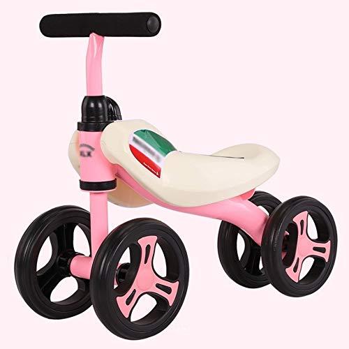 Kinderfahrrad Jungen Mädchen Fahrrad Baby-Balancen-Fahrrad keine Pedal-Baby-Auto-Fahrt auf Spielzeug for 1-3 Jahre...