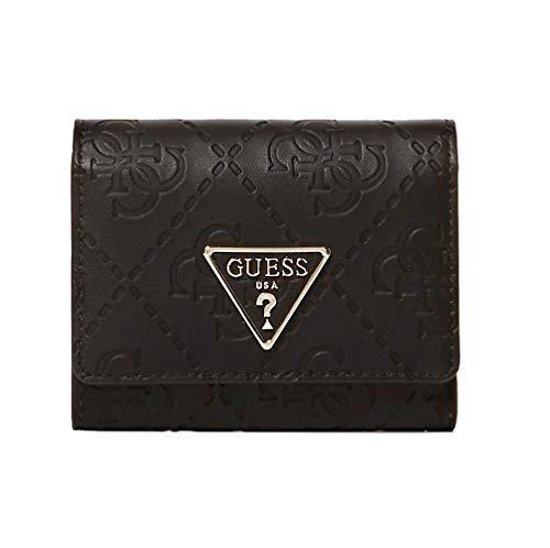 Guess maddy slg portemonnee klein logo VD729143 zwart